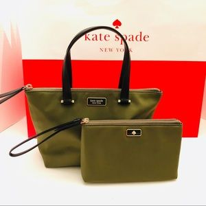 ♠️Kate Spade ♠️- Insulated Tote/Wristlet Set